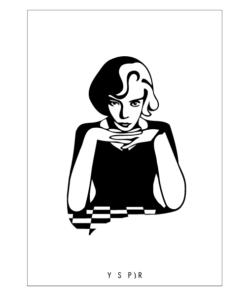 Queens Gambit Plakat